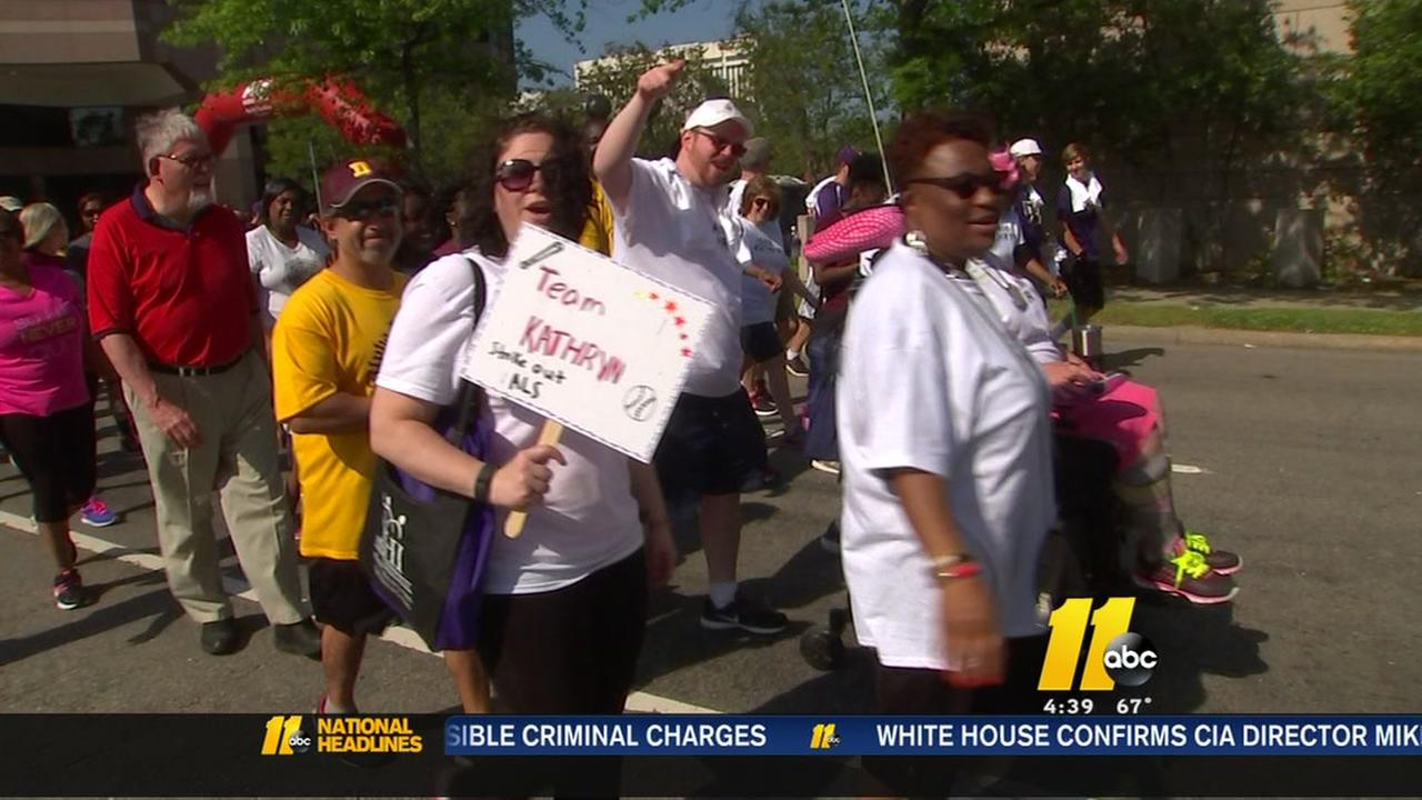19th Annual Walk to Defeat ALS returns to Raleigh