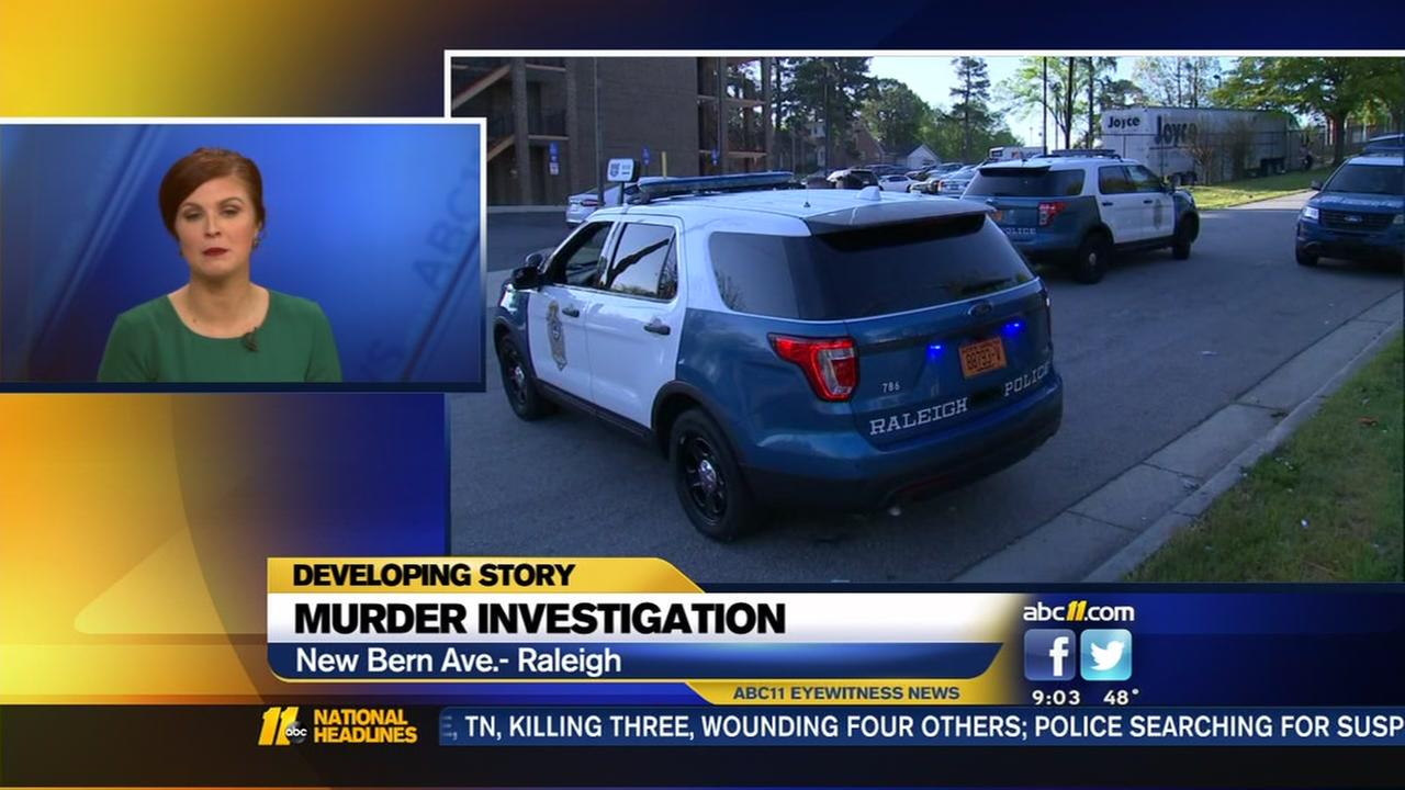 Raleigh police investigate homicide