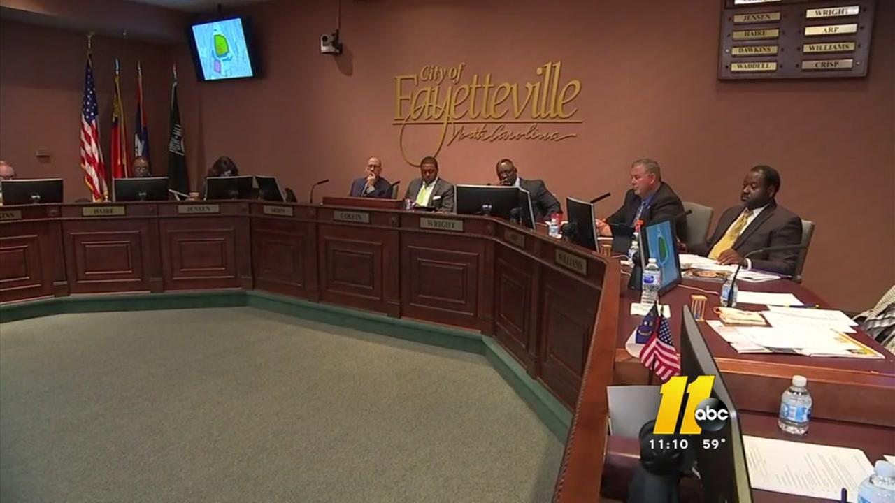 Fayetteville councilman