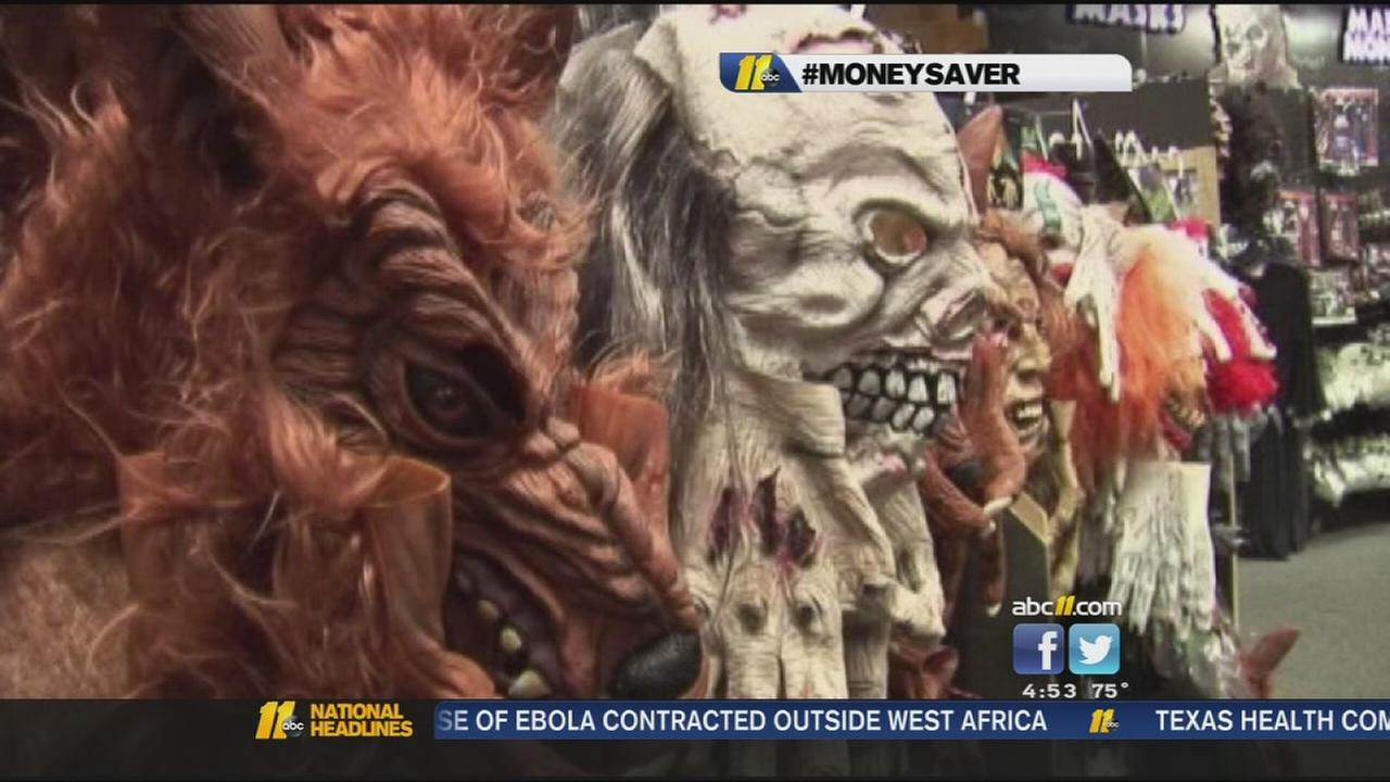 Saving on Halloween costumes and decorations