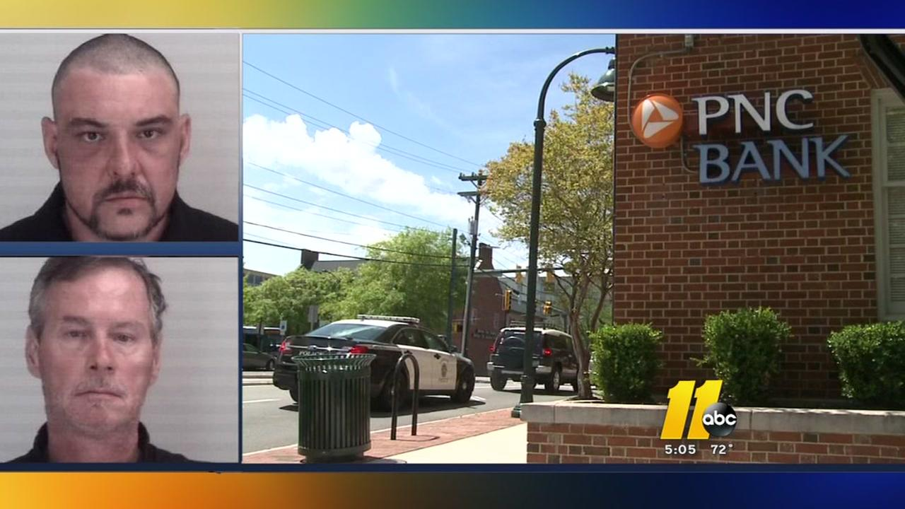 Police quickly arrest two in Chapel Hill bank robbery