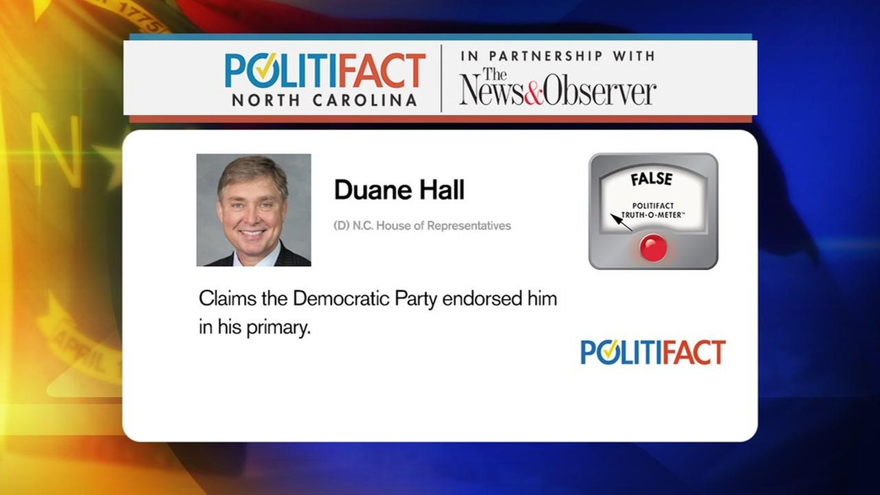 PolitiFact checks statements of two Democrats