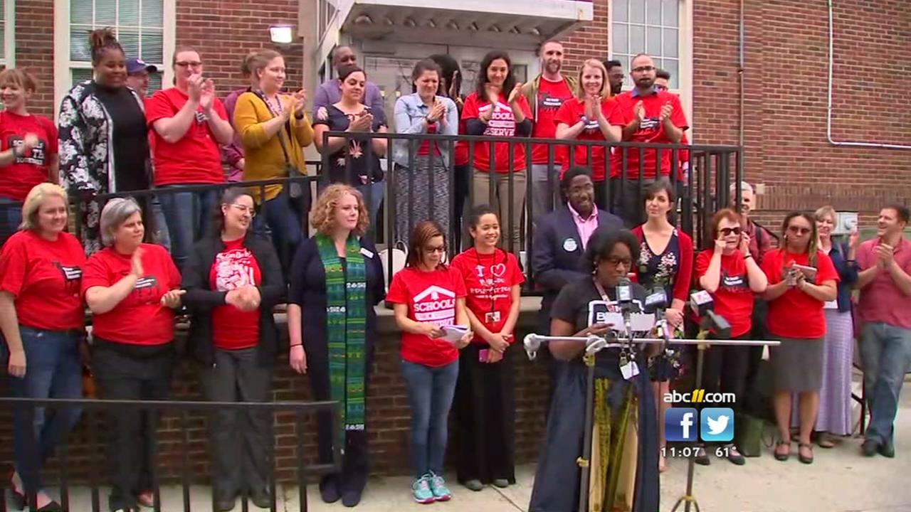Durham teachers say day off is to fight for more funding