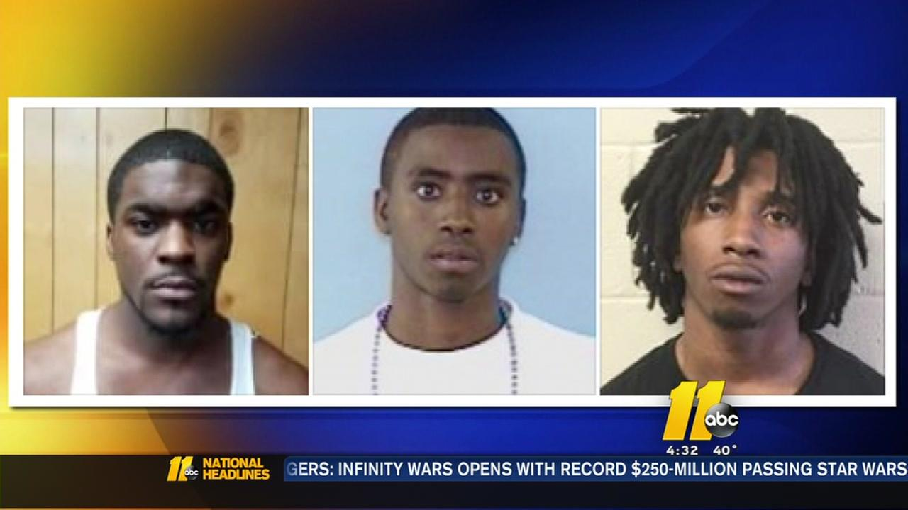 Hoke County Arrests