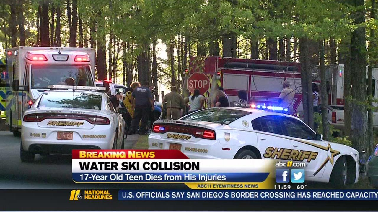 Raleigh teen dies from injuries after jet skis collide
