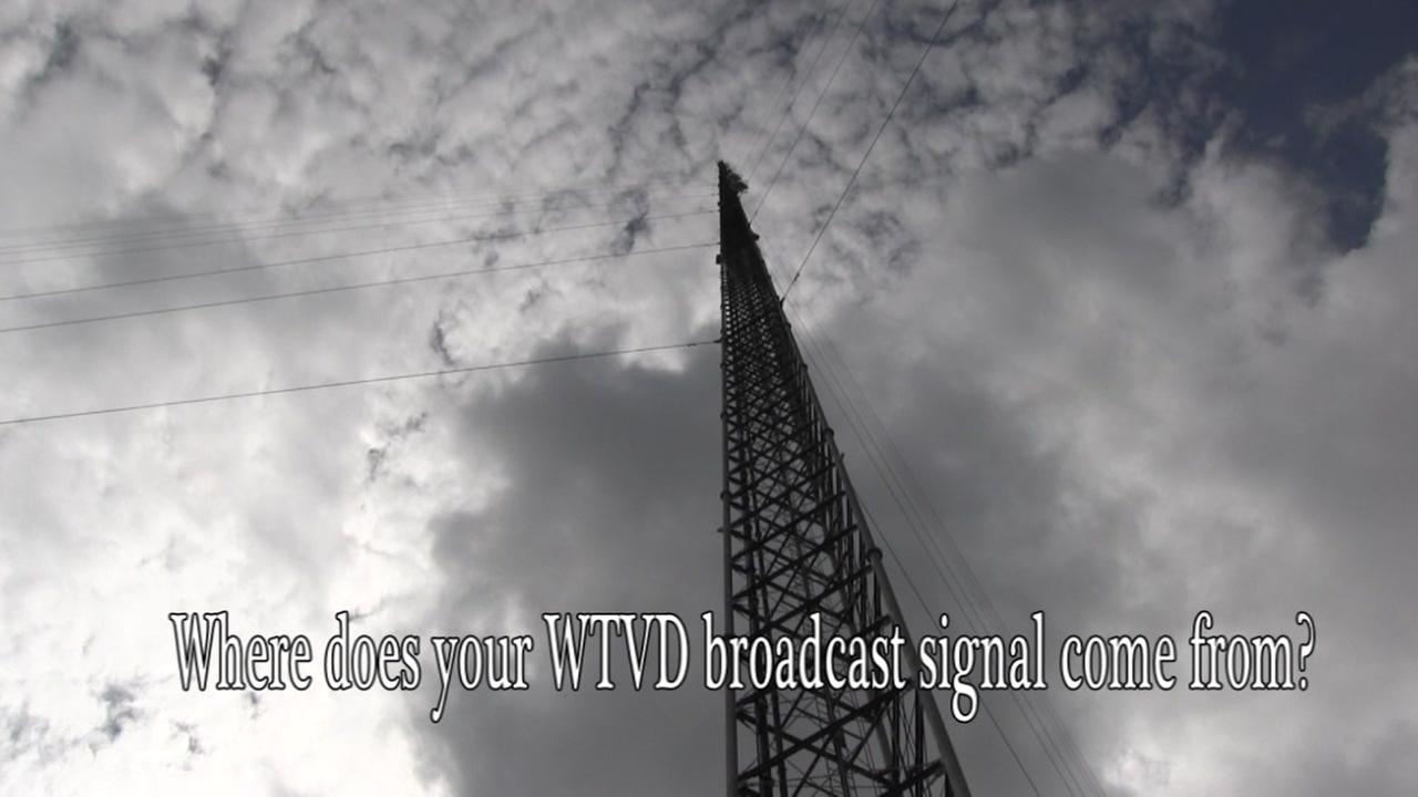 Where does your WTVD broadcast signal come from