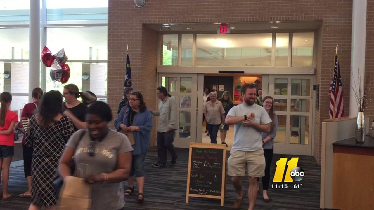 East Regional Library in Knightdale reopens
