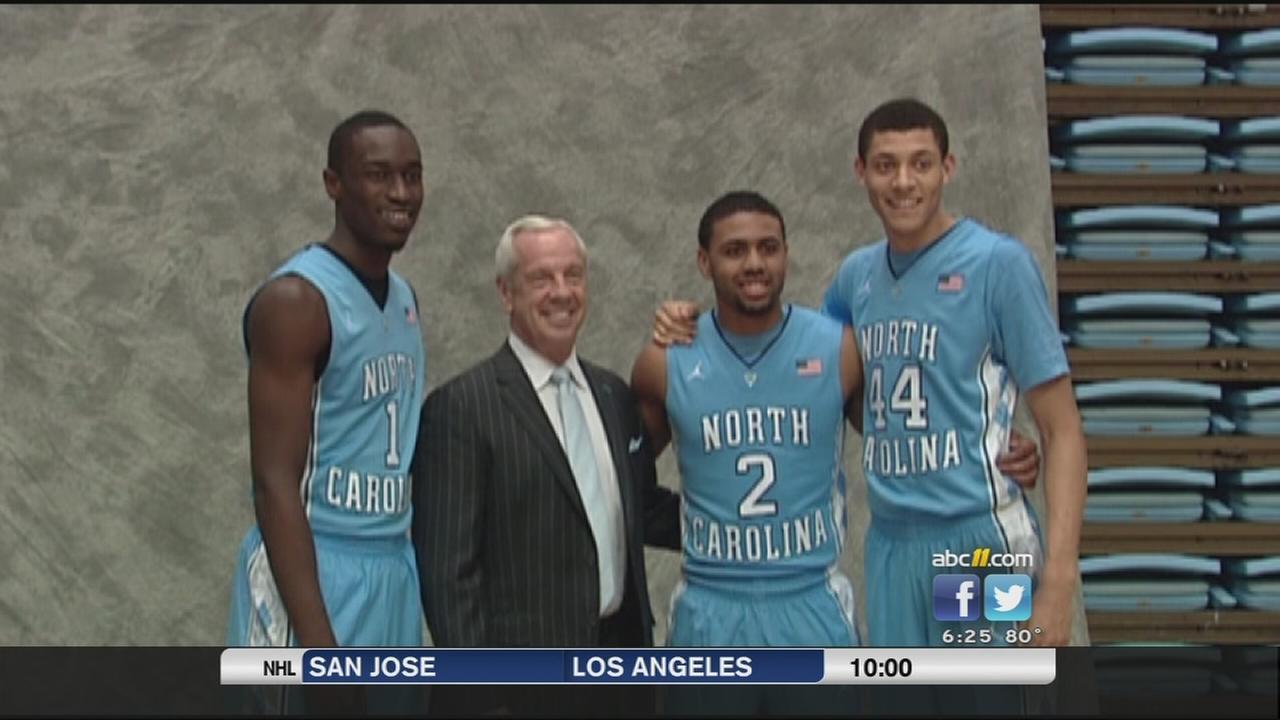 UNC basketball media day