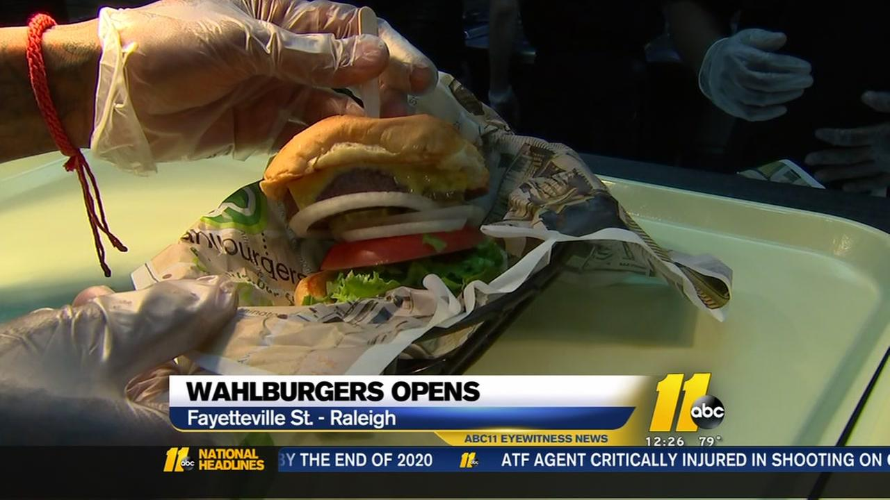 Wahlburgers NOW open in downtown Raleigh