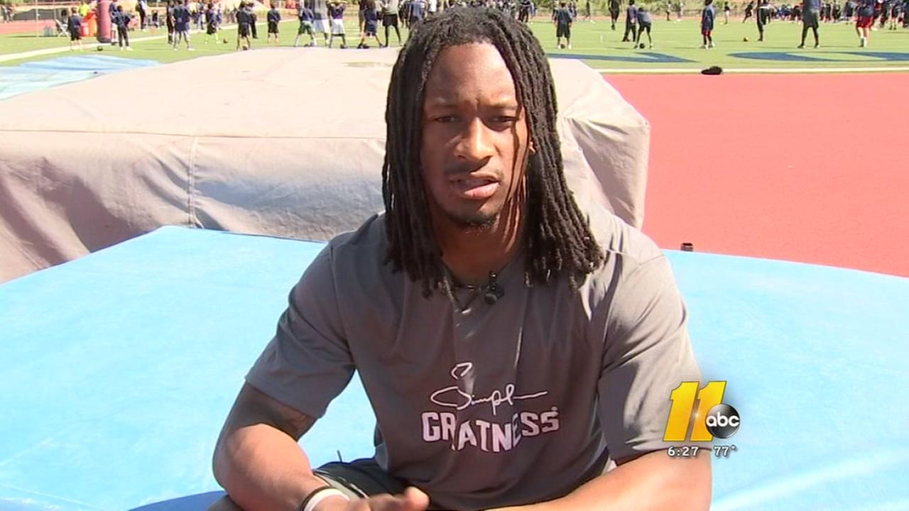 Todd Gurley using offseason to impact youth
