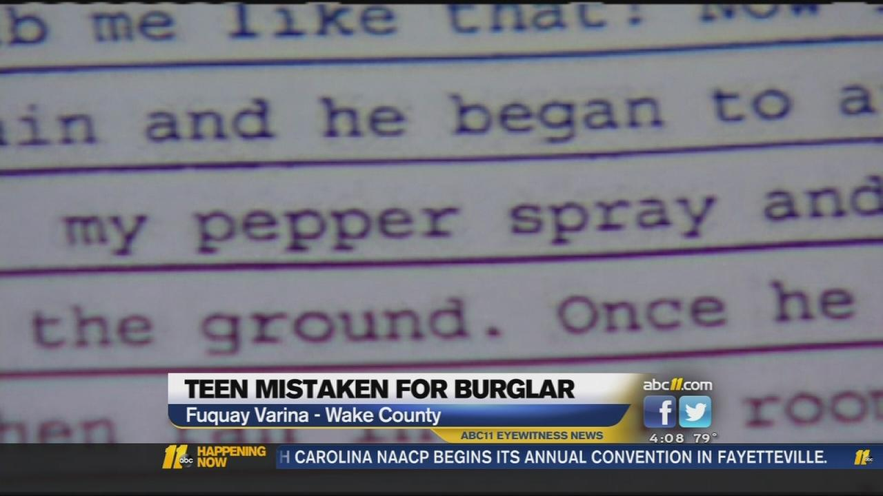 Police report in incident released