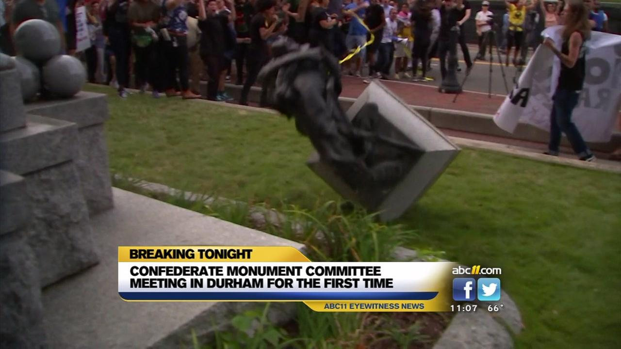 Durham leaders take first step in deciding future of Confederate monuments