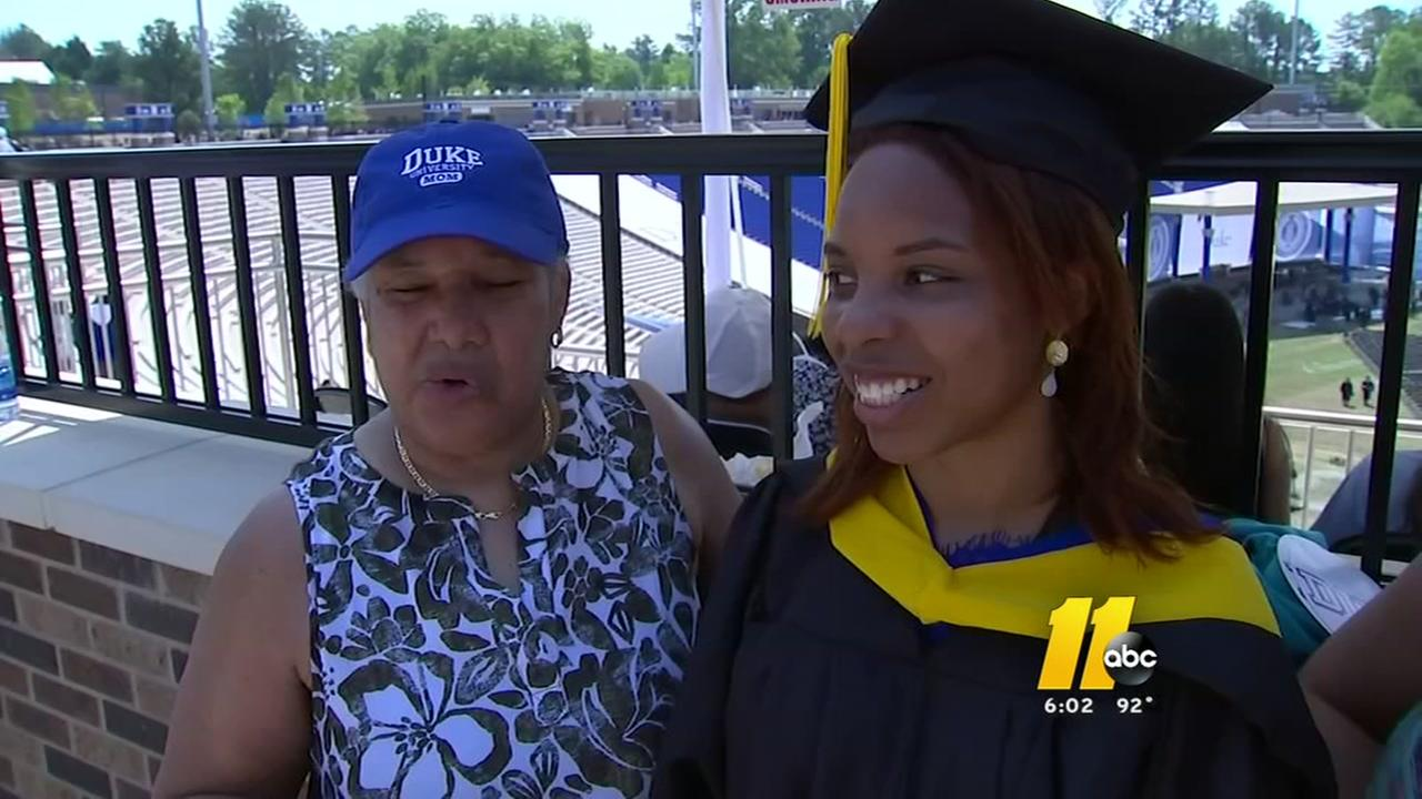 A day of celebration for grads and moms in the Triangle