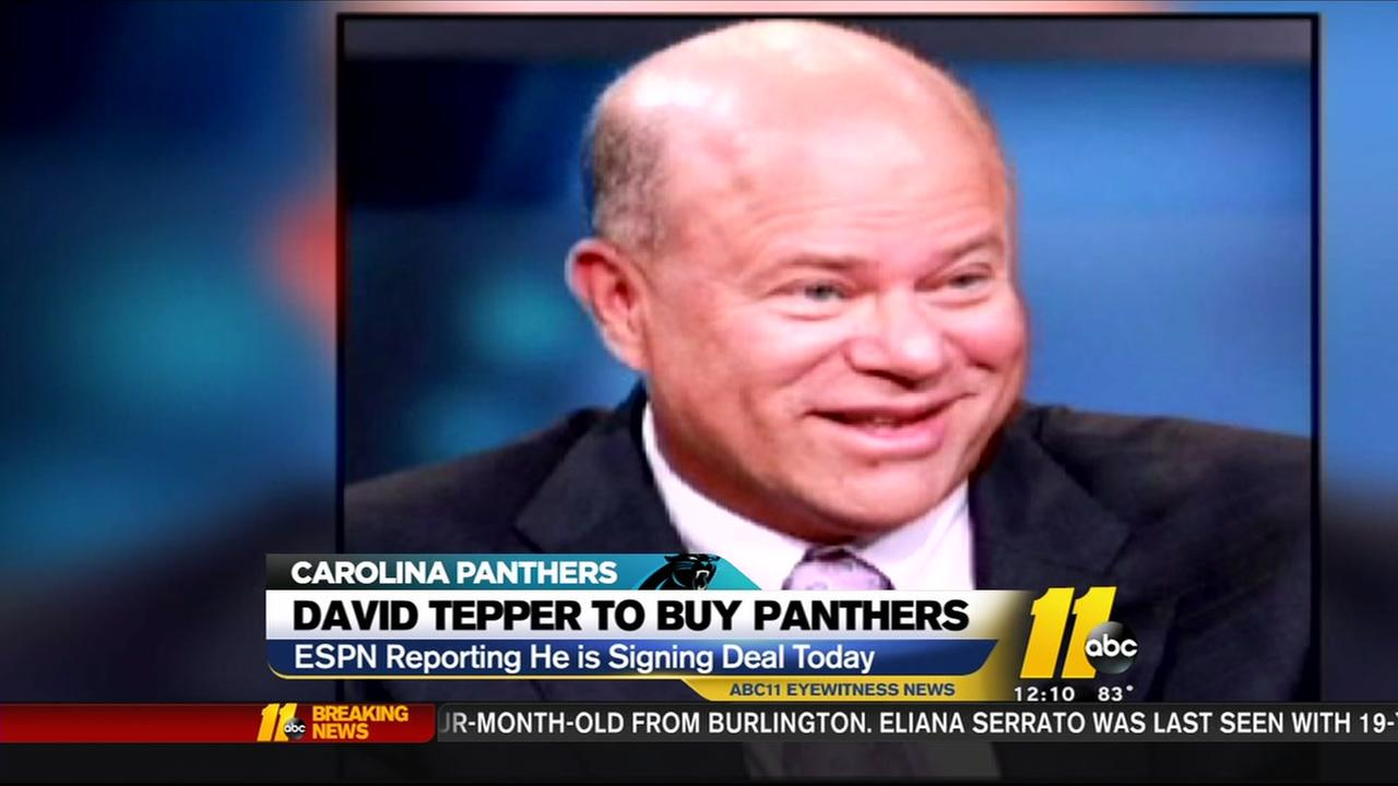 David Tepper has reportedly agreed to buy Carolina Panthers