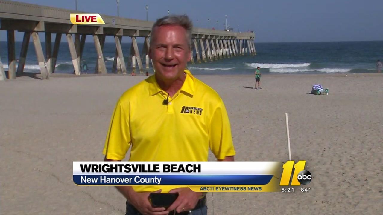 Chris Hohmann talks NC Hurricane Preparedness Week at the beach