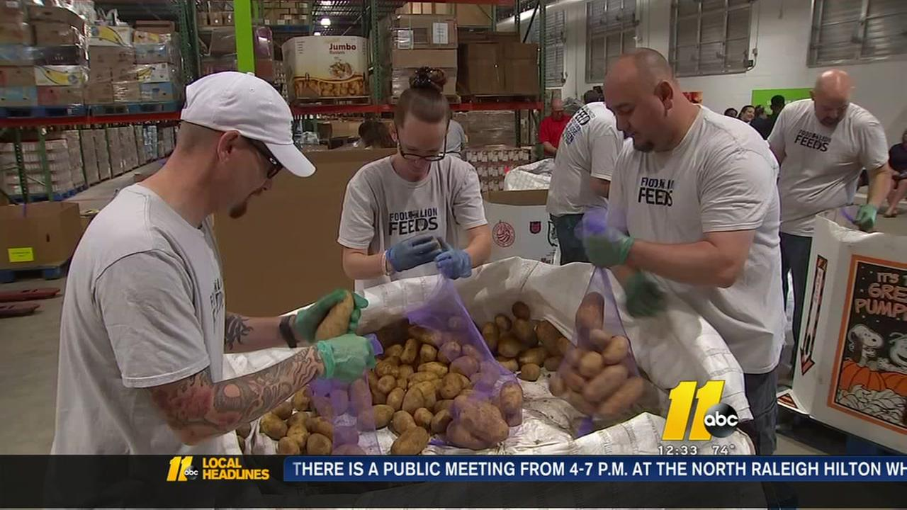 NC food bank launches summer initiative