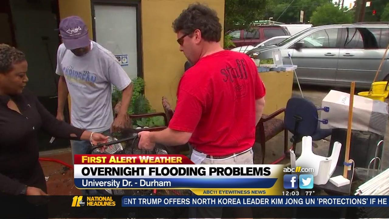 Im worn out: business owners want relief from re-occurring flooding