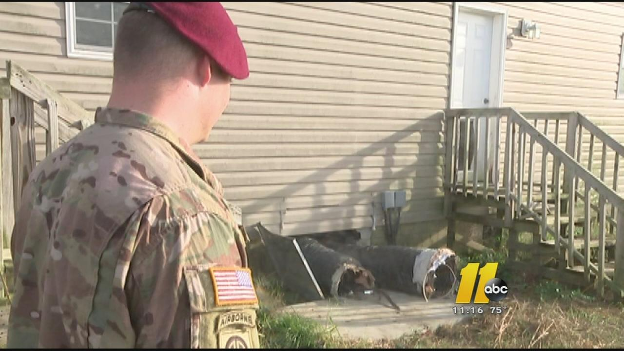 Fort Bragg soldiers home ransacked while in Afghanistan