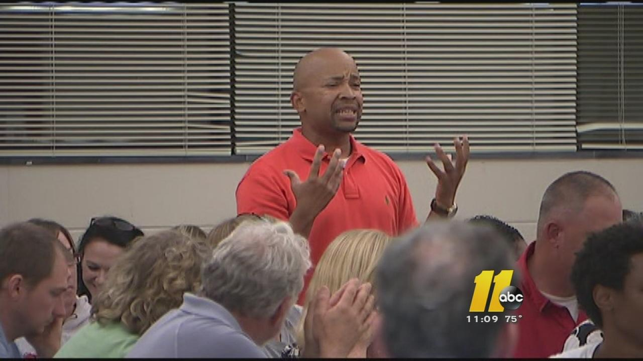 Parents confront Wake Co. School Board over latest school assignment plan