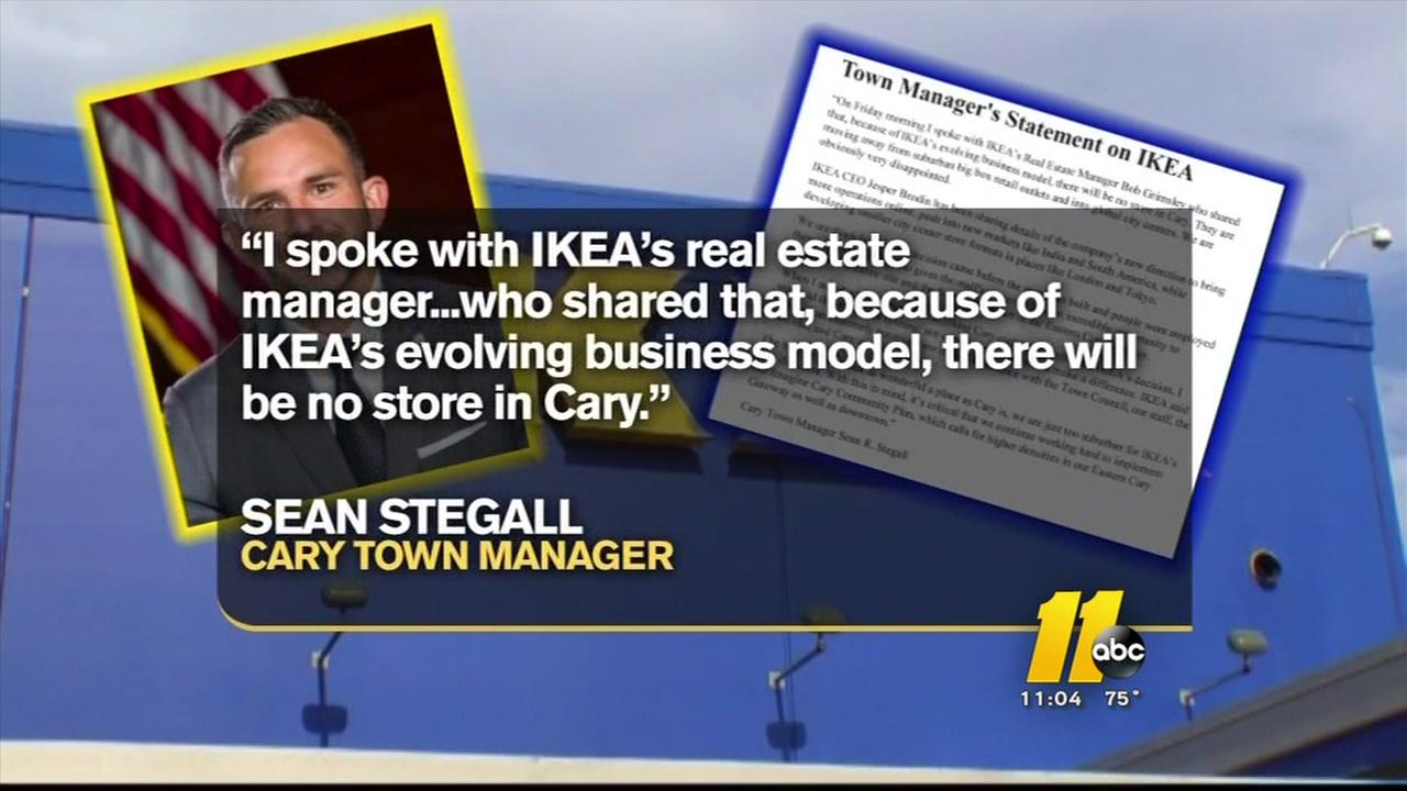 IKEA wont be coming to Cary after all