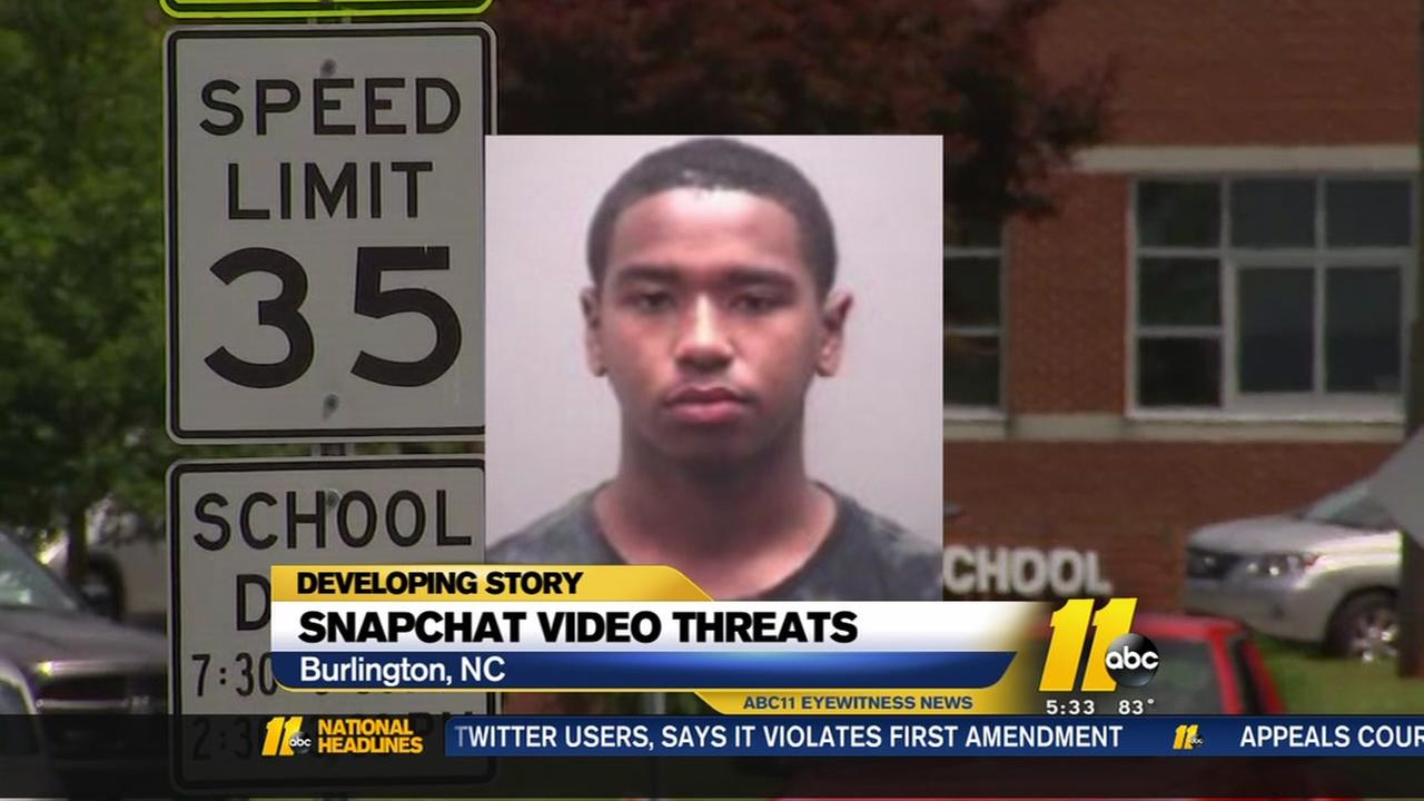 Burlington student arrested for posting threatening video