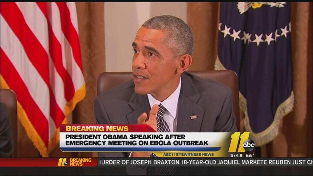 Obama presser on Ebola