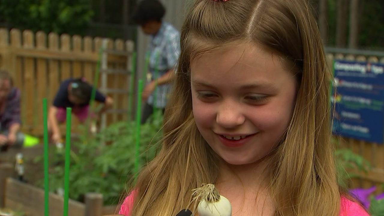 Students grow minds, crops through Cary schools garden