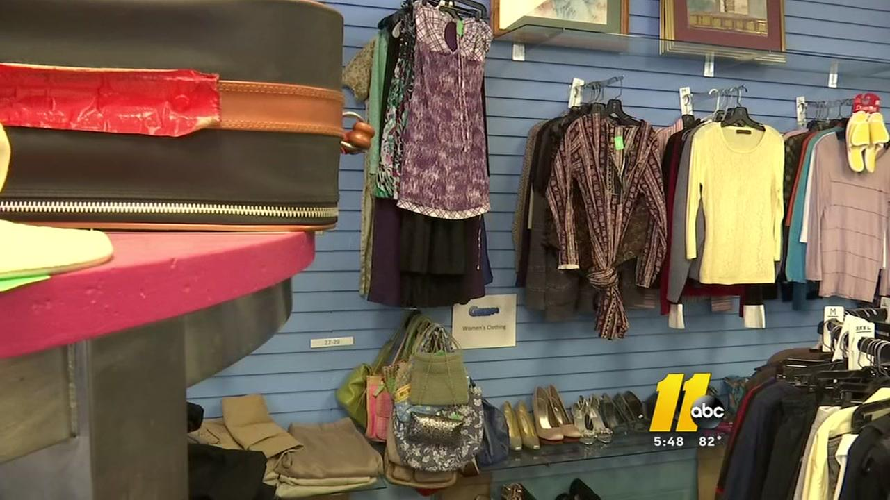 Cary thrift store gives volunteers store credit