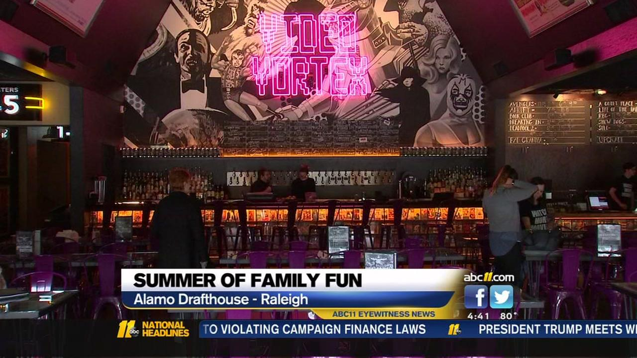 Summer of Family Fun at Alamo Drafthouse