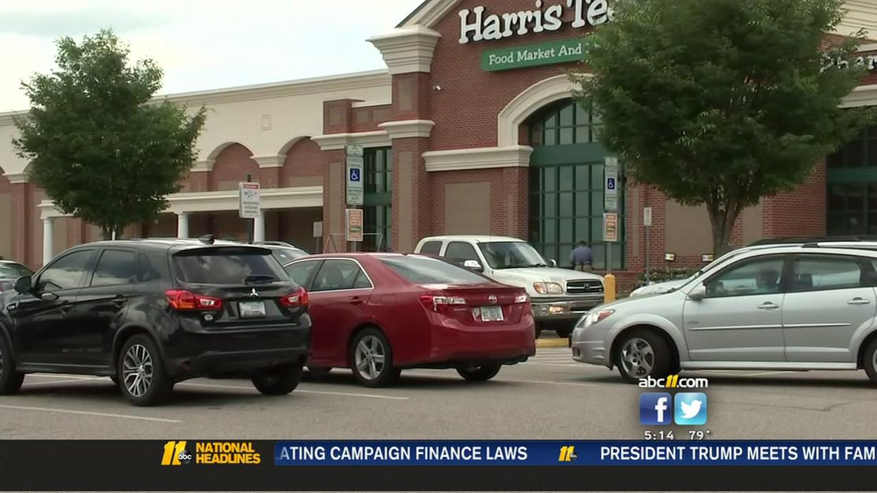 Disturbing robbery at Durham Harris Teeter