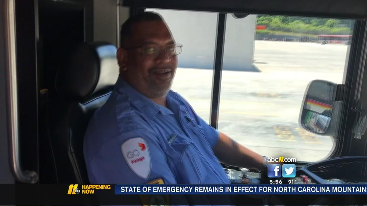 Bus driver marks 3 million miles on road