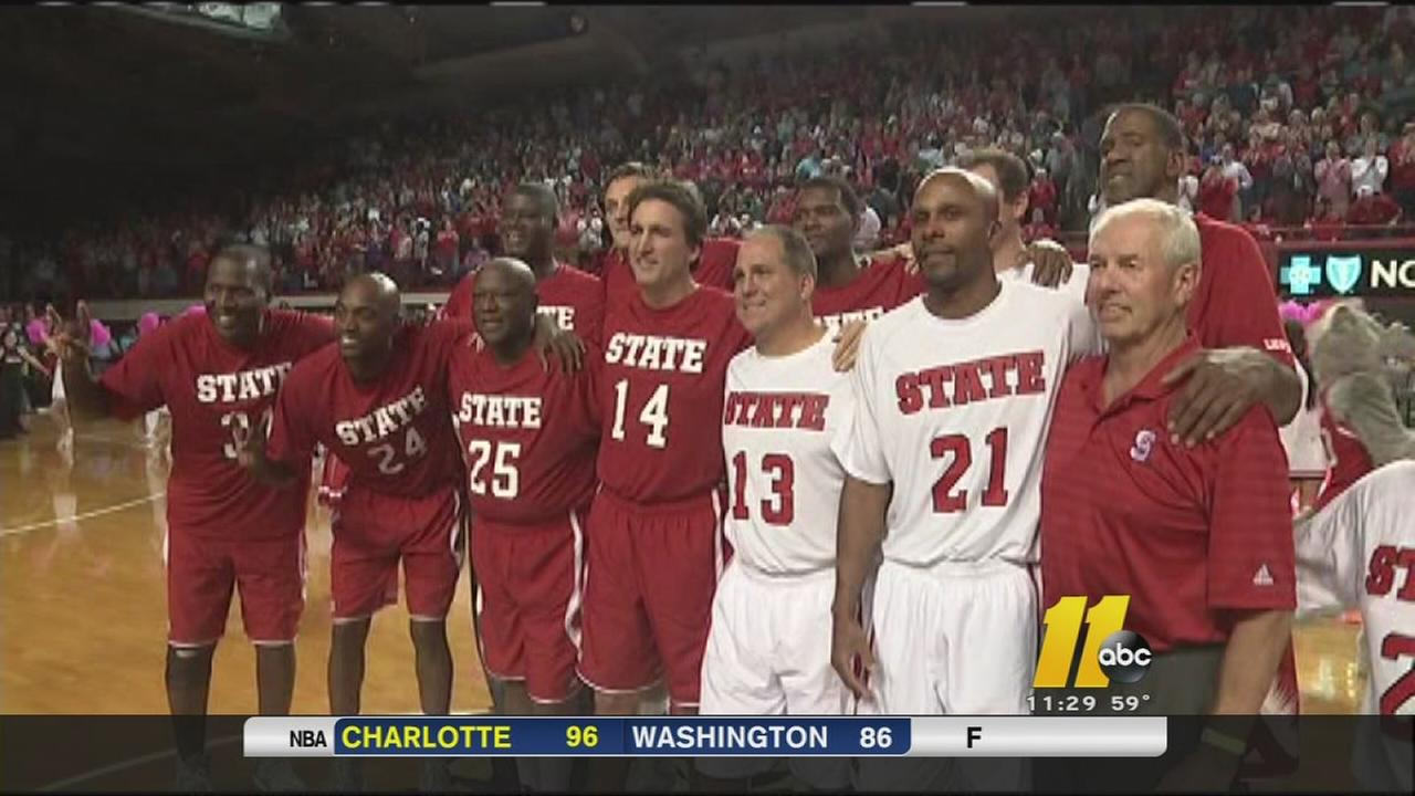 Throwback with the Pack thrills NC State fans