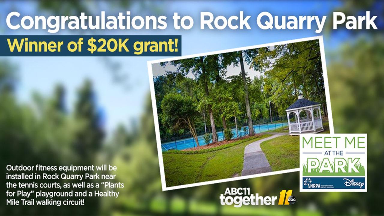Rock Quarry Park wins $20,000 grant