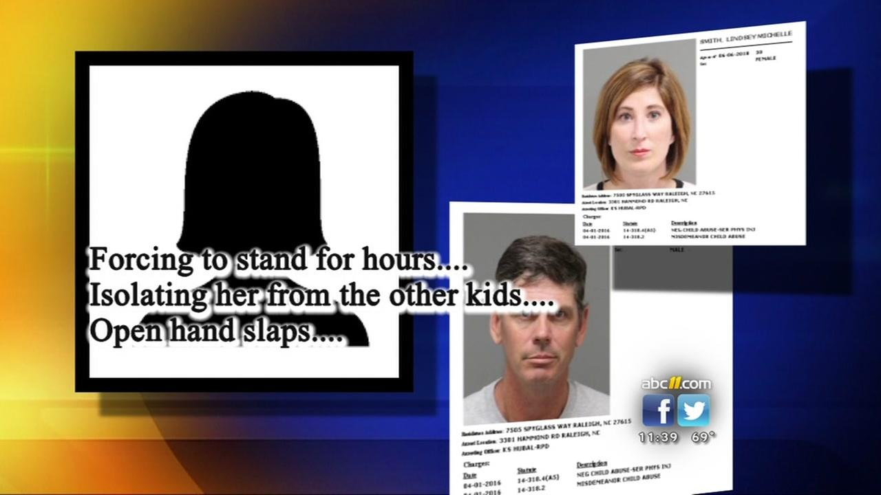 Couple charged with child abuse