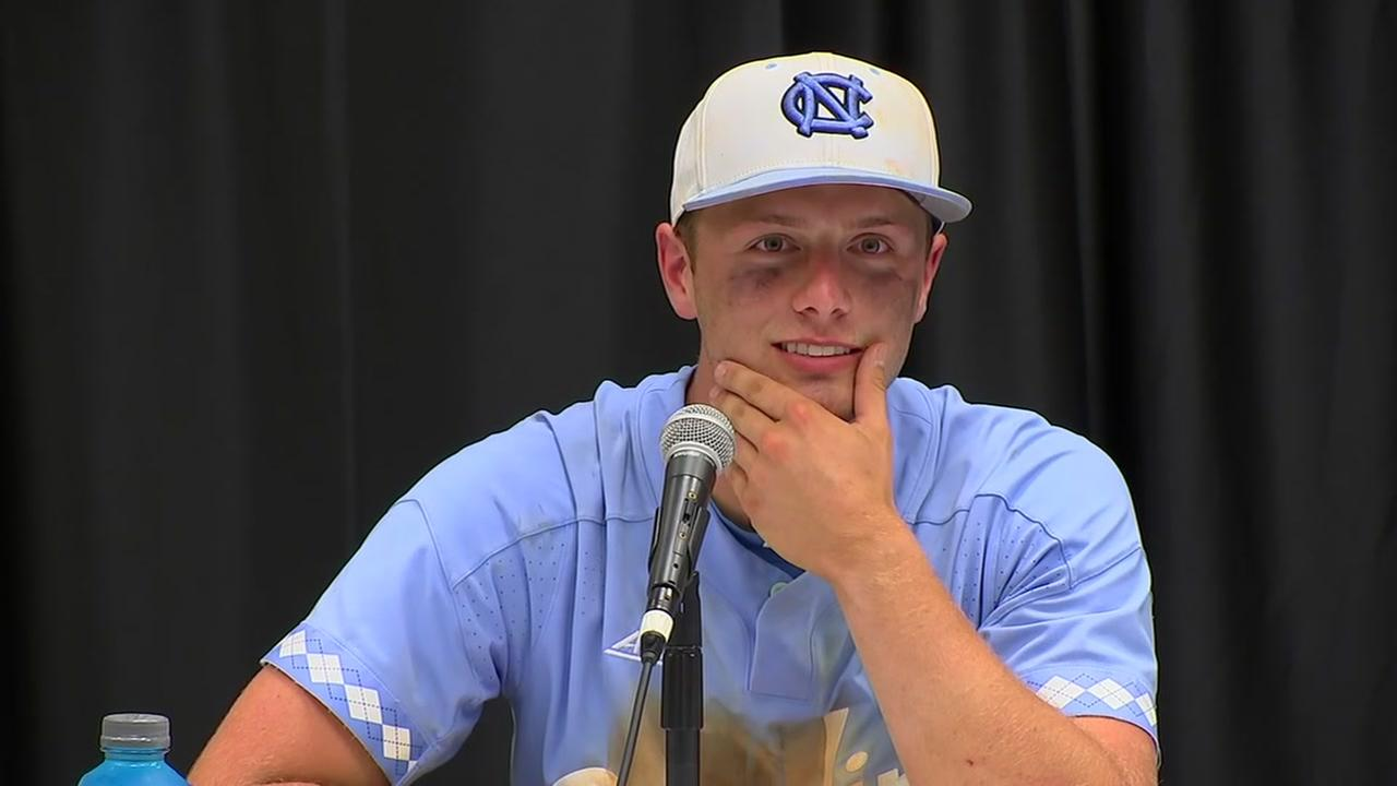 UNC wins Super Regional 7-4 over Stetson University