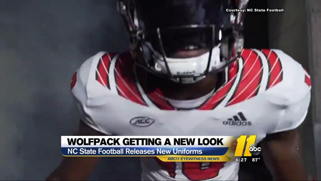 Wolfpack football gets a new look