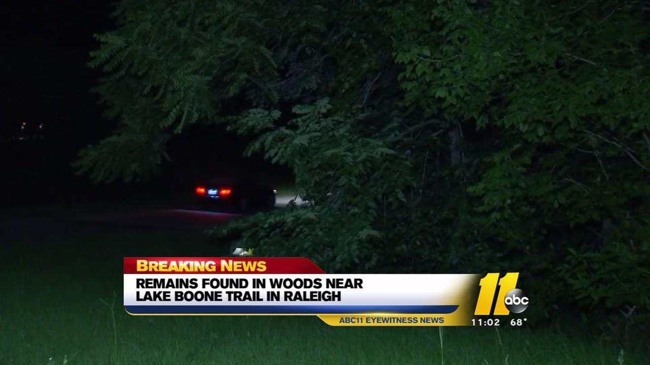 Human remains found in Raleigh