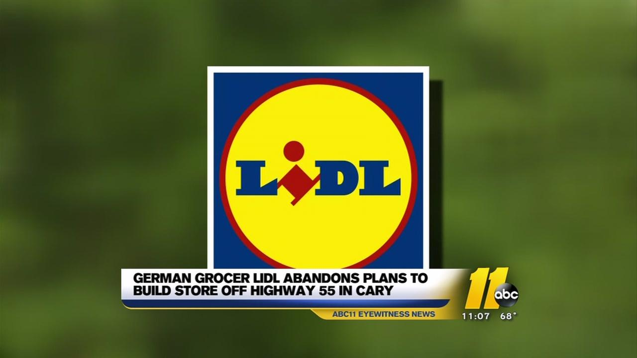 Lidl cancels plans to build in Cary, sued for breach of contract