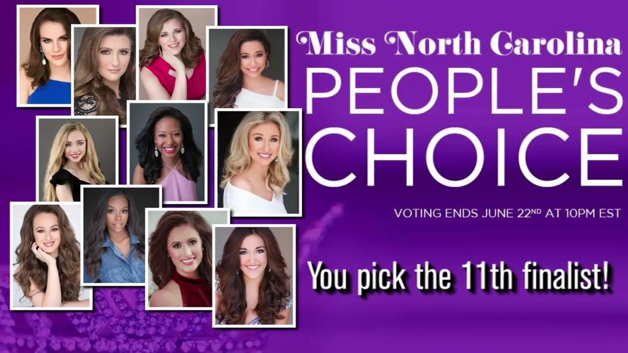 Help pick the finalist for Miss North Carolina 2018