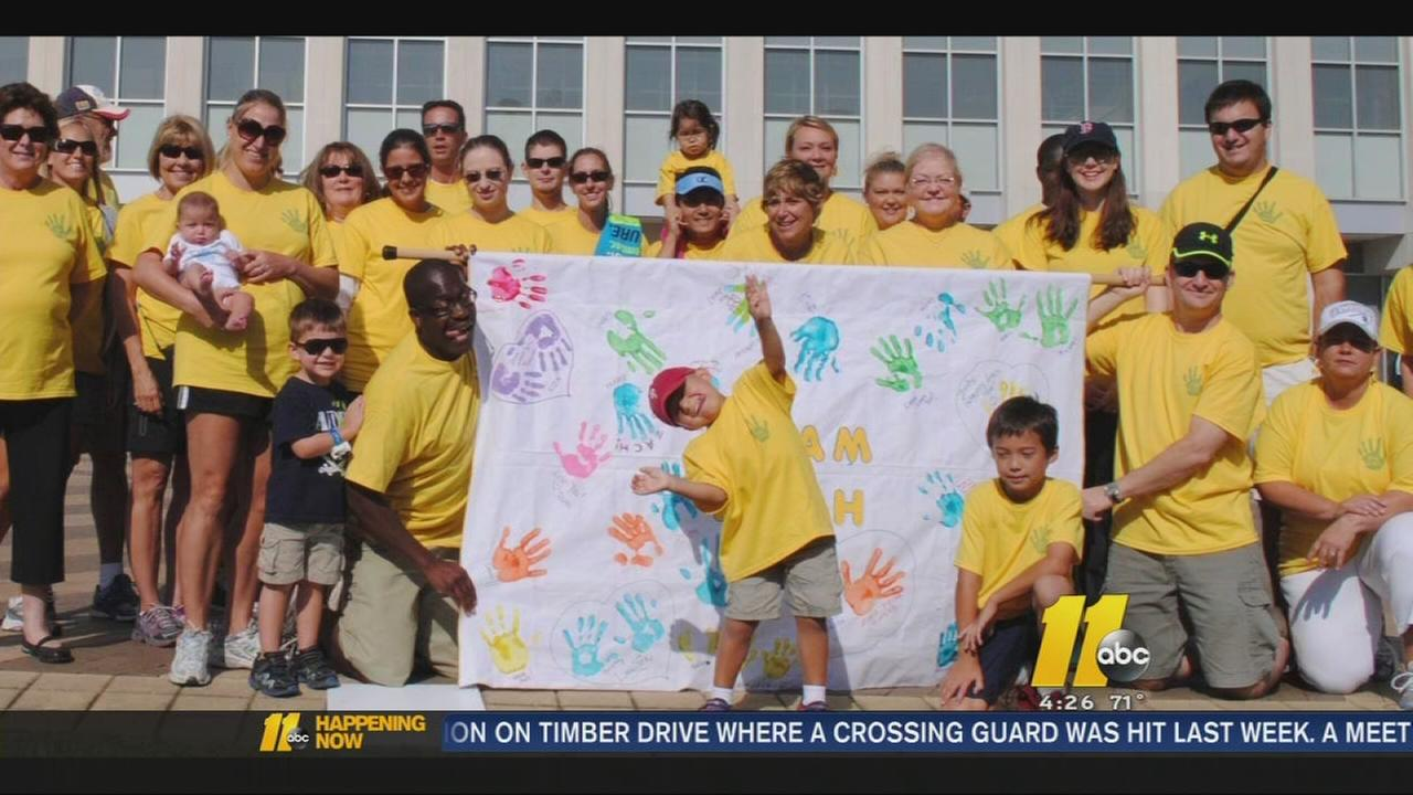 Triangle CureSearch Walk aimed at fighting pediatric cancer