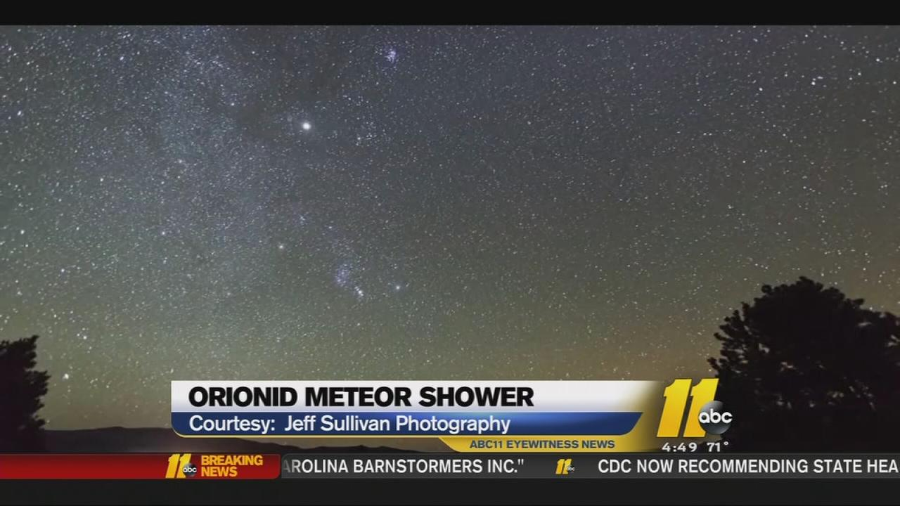 Orionid Meteor Shower Visible Tuesday Night