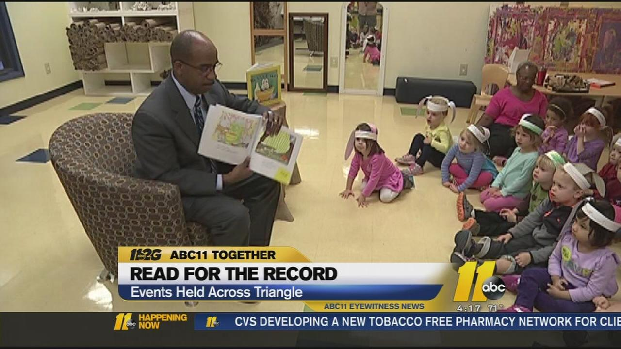 ABC11 helps kids Read for the Record