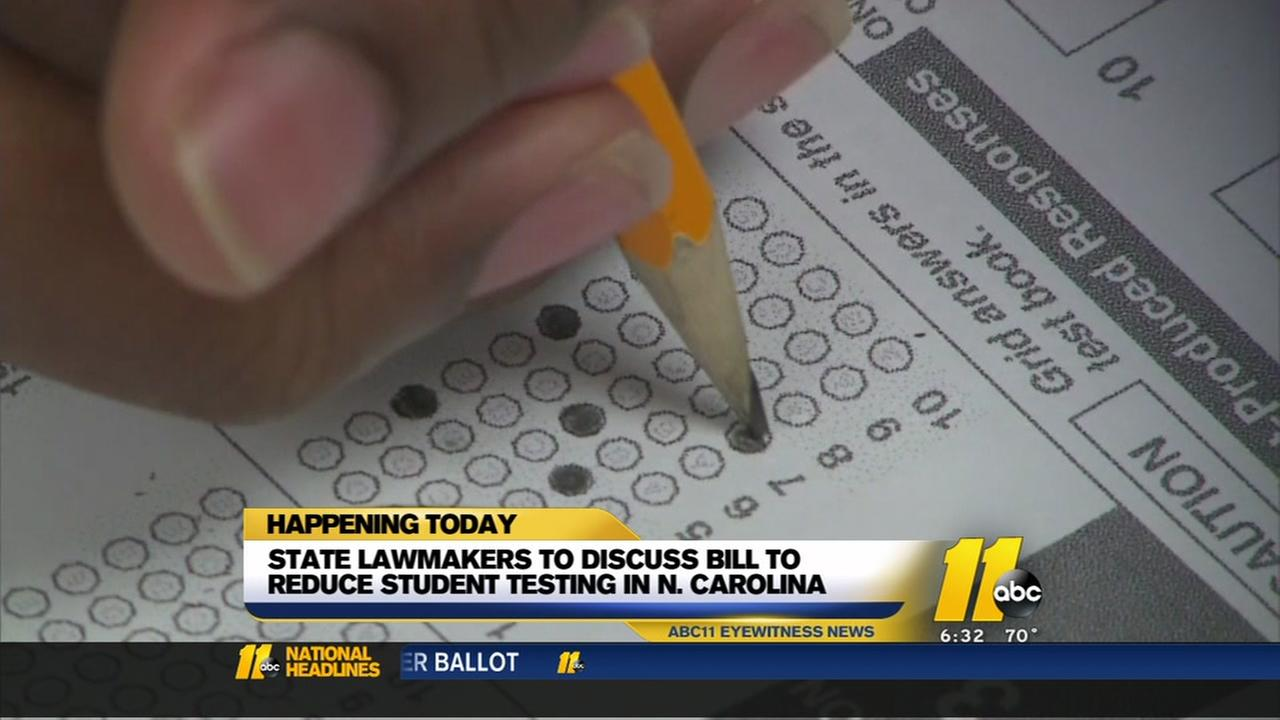 State lawmakers to discuss bill to reduce student testing