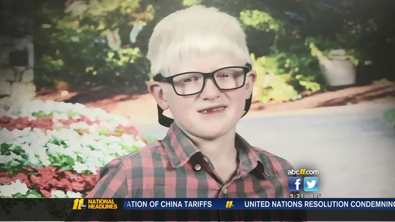 Family of blind student is fighting to keep their son at his school