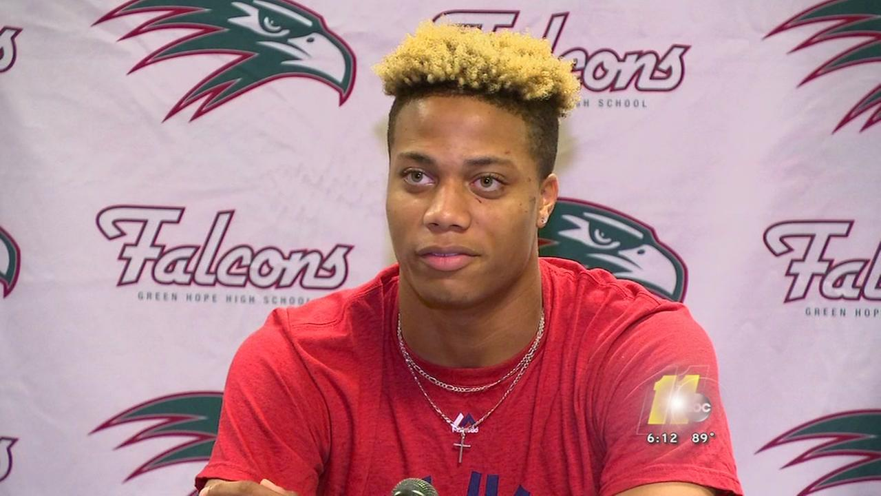 Green Hope High School star Jordyn Adams headed to the Major leagues
