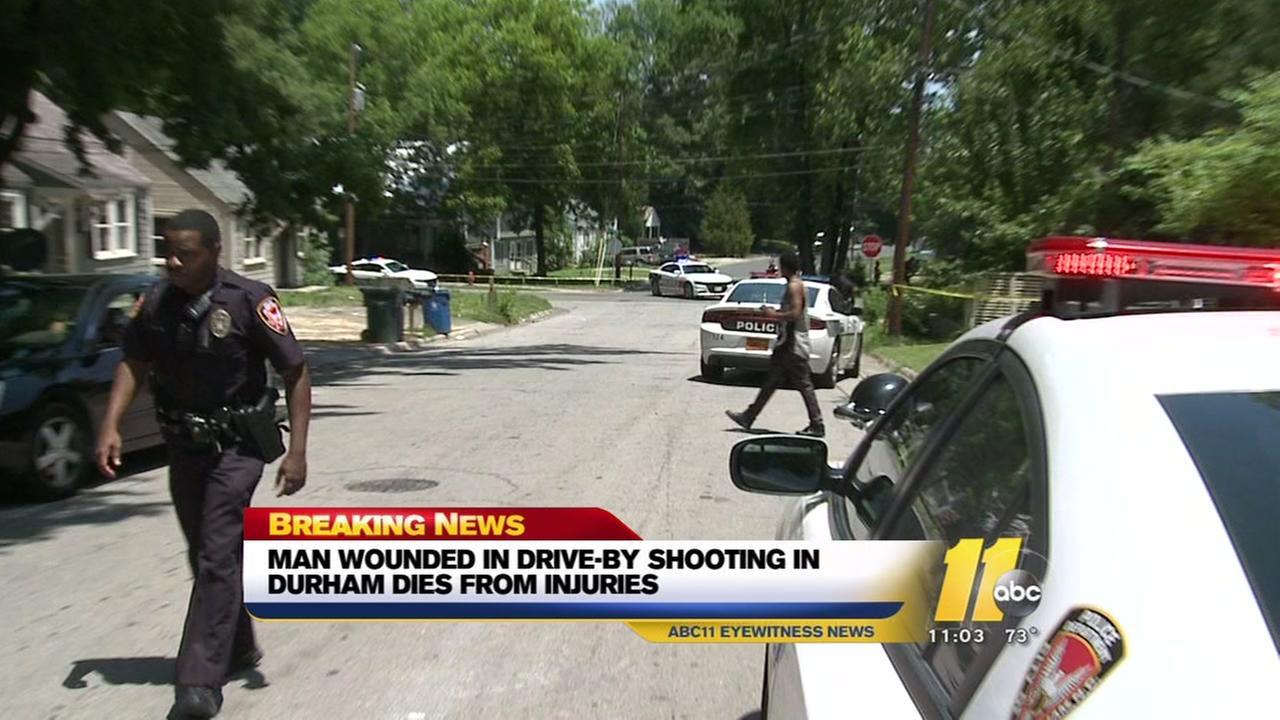 Durham police investigate homicide after man found shot on street