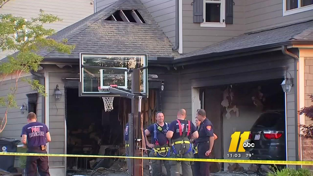 Firefighters in Wake County respond to multiple house fires Saturday