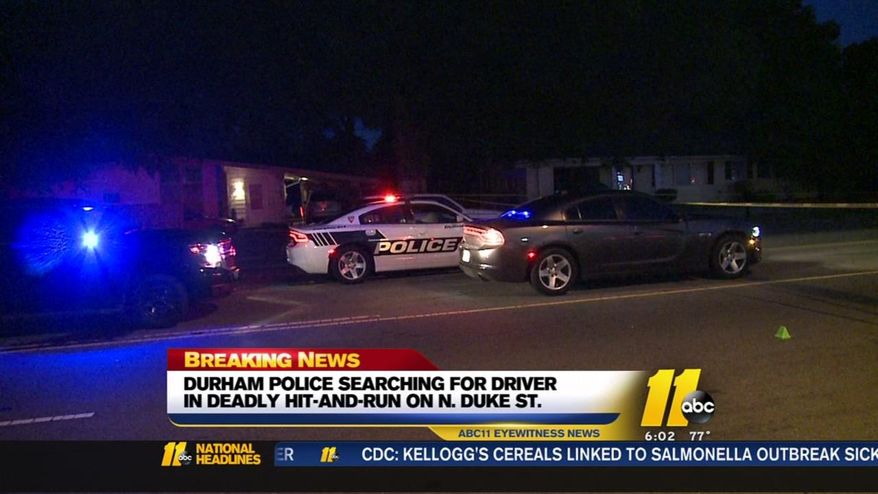 Man struck, killed while using Durham crosswalk