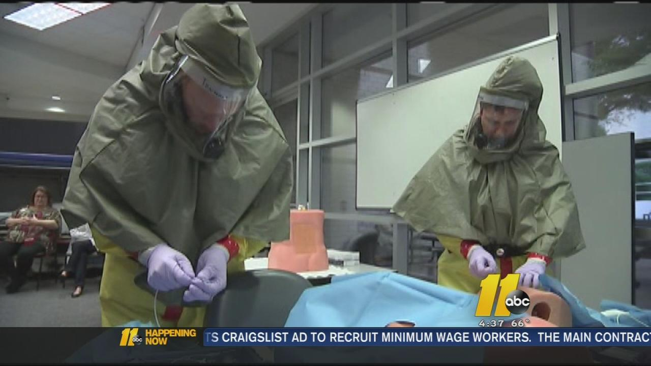 DHHS: At least 76 of NCs hospitals have run through Ebola drill