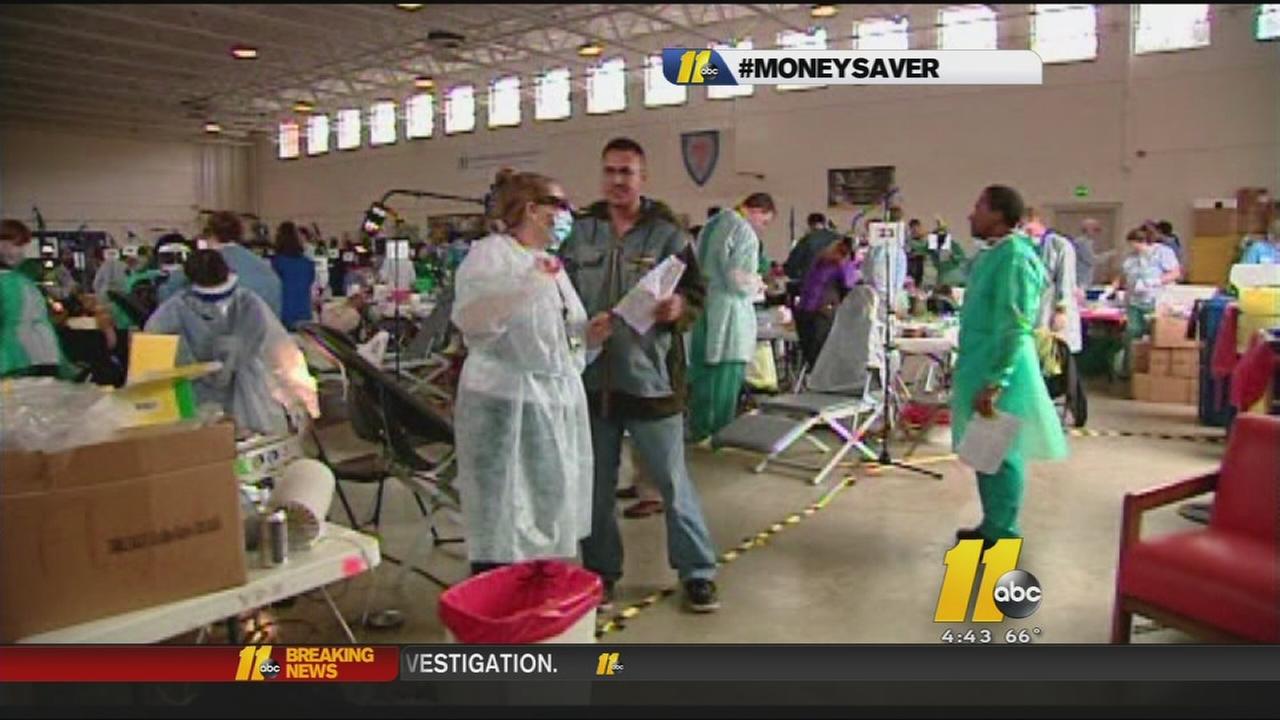 Raleigh church hosts free dental clinic